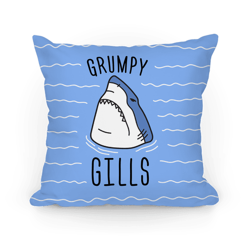 Grumpy Gills Shark