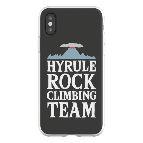 Hyrule Rock Climbing Team Phone Flexi-Case