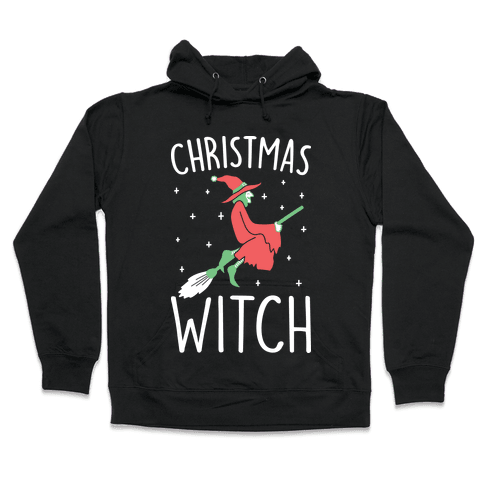 Christmas Witch Hooded Sweatshirt