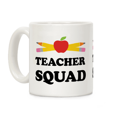 Teacher Squad Coffee Mug