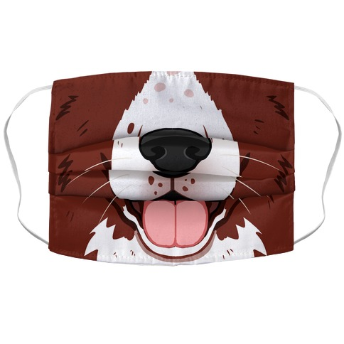 English Springer Spaniel Accordion Face Mask