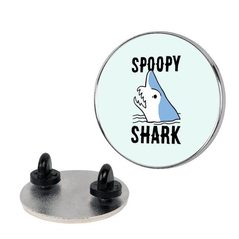 Spoopy Shark - Goblin Shark pin