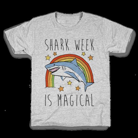 Shark Week Is Magical Parody Kids T-Shirt