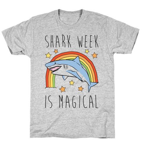 Shark Week Is Magical Parody T-Shirt