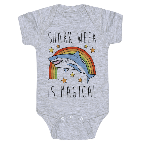 Shark Week Is Magical Parody Baby Onesy