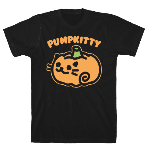 Pumpkitty White Print