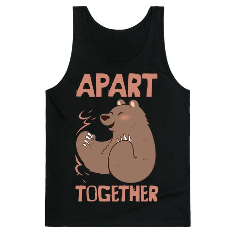 Bearly Apart, Always Together (Right) Tank Top