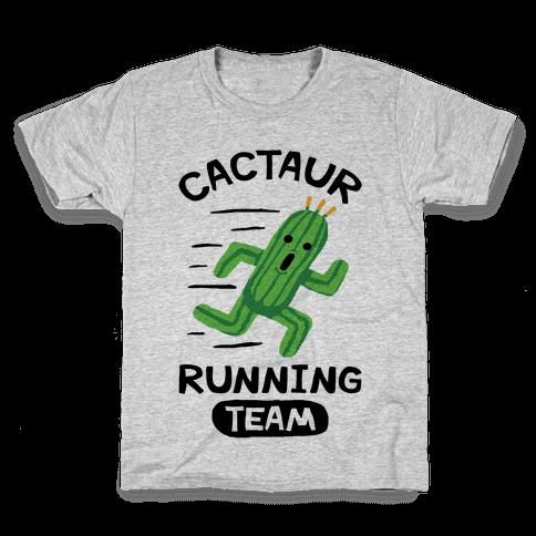 Cactaur Running Team Kids T-Shirt