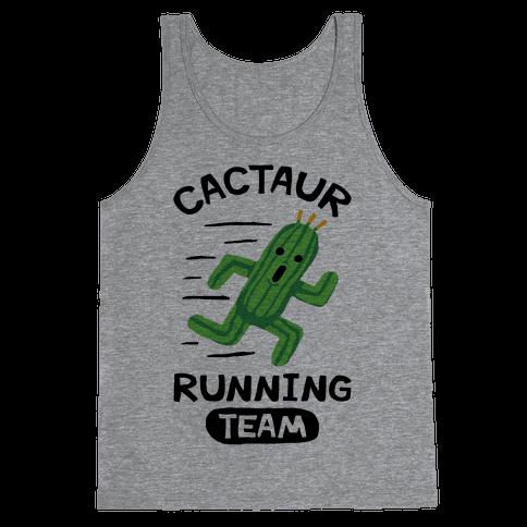 Cactaur Running Team Tank Top