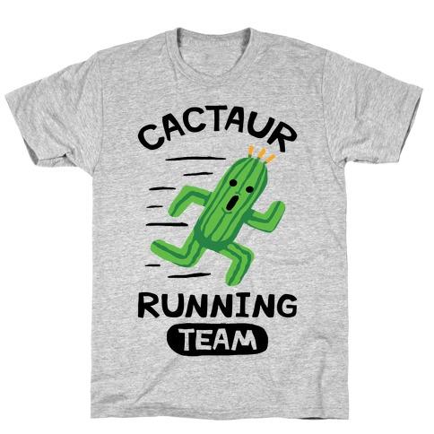 Cactaur Running Team T-Shirt