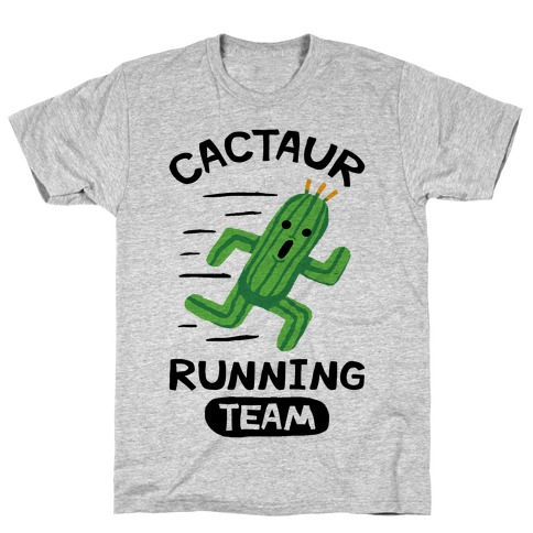 Cactaur Running Team T-Shirt