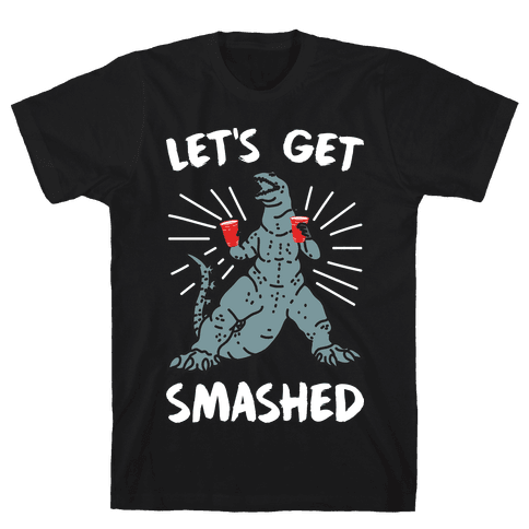 Let's Get Smashed Party Kaiju Mens/Unisex T-Shirt