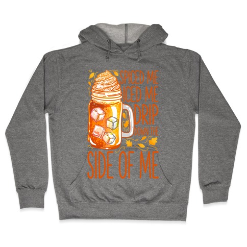 WAP Pumpkin Spice Parody Hooded Sweatshirt