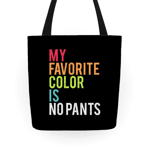 Favorite Color Tote