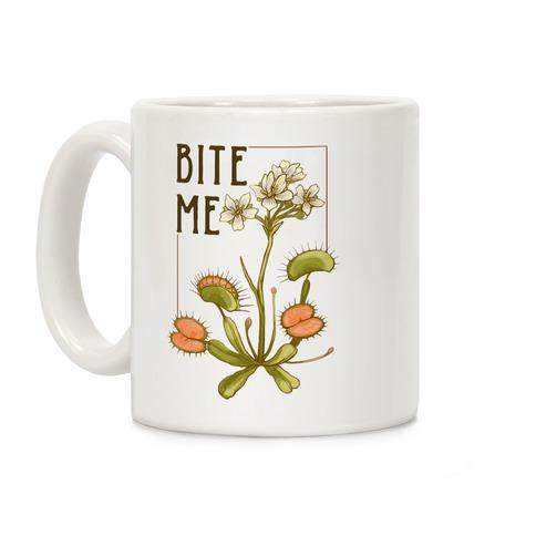 Bite Me Venus Flytrap Coffee Mug