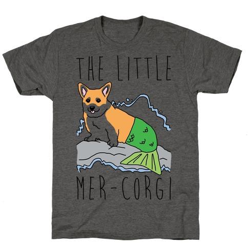 The Little Mer-Corgi Parody T-Shirt