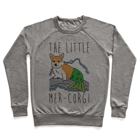 The Little Mer-Corgi Parody Pullover