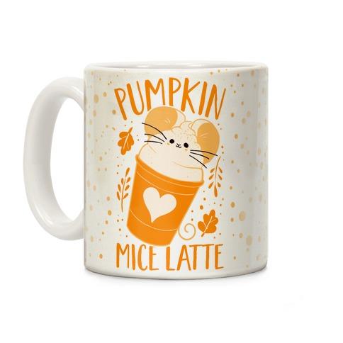 Pumpkin Mice Latte Coffee Mug