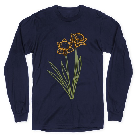 Simple Daffodils Long Sleeve T-Shirt