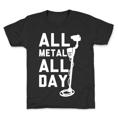 All Metal All Day Kids T-Shirt