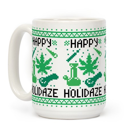 Happy Holidaze Coffee Mug