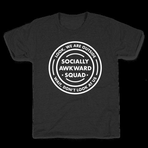 Socially Awkward Squad Kids T-Shirt