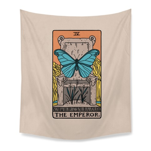 The Emperor Butterfly Tarot Tapestry