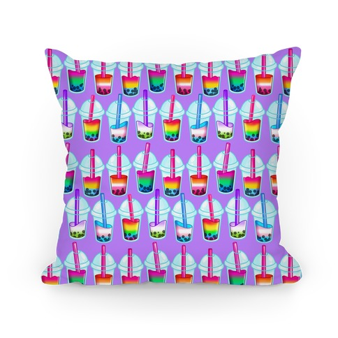 Pride Bubble Tea Pillow