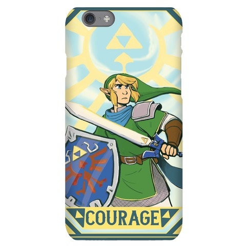 Courage - Link Phone Case