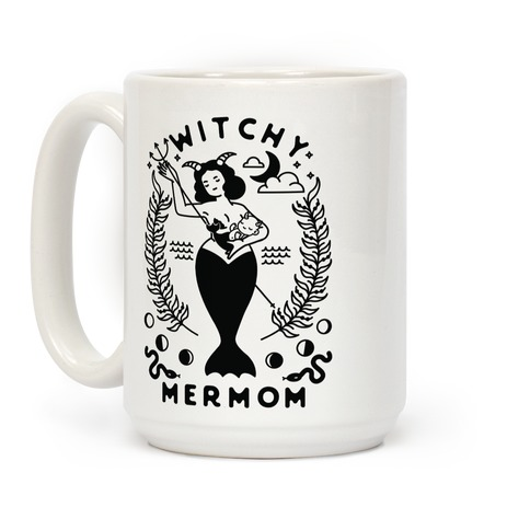 Witchy Mermom Coffee Mug