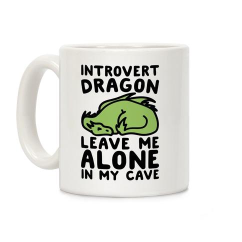 Introvert Dragon Coffee Mug