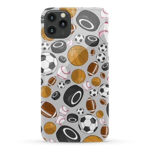 Sports Balls Pattern Phone Case