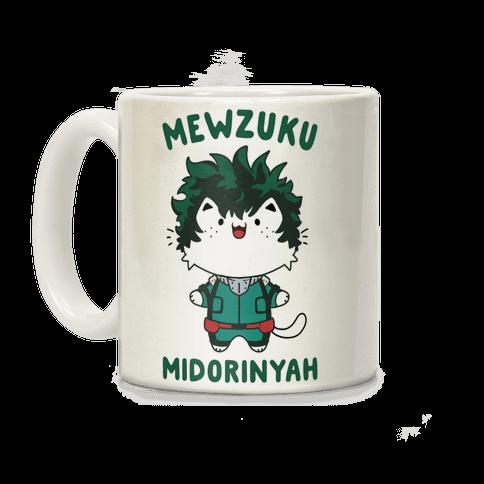 Mewzuku Midorinyah Coffee Mug