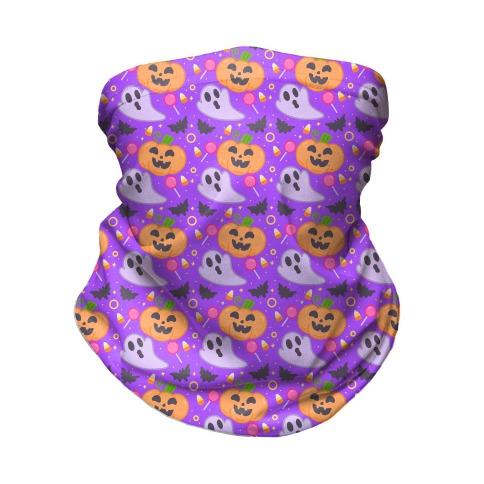 Halloween Fun Pattern Neck Gaiter