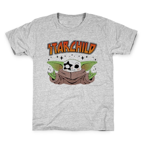 Starchild Baby Yoda Kids T-Shirt