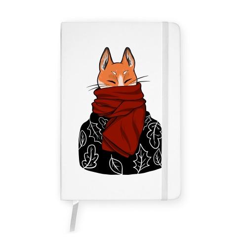 Autumn Fox Notebook
