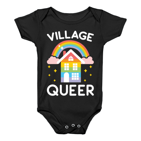 Village Queer Baby Onesy