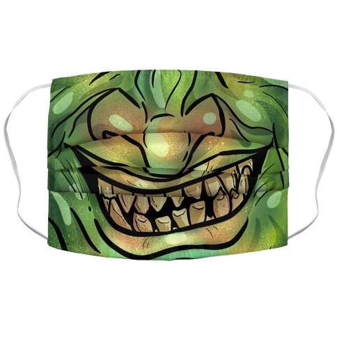 Goblin Mouth Accordion Face Mask