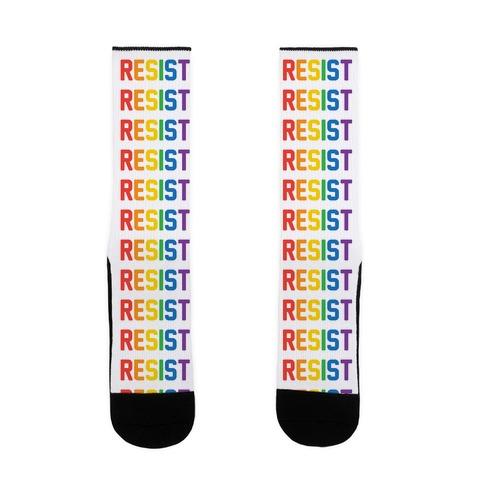 LGBTQ+ Resist Sock
