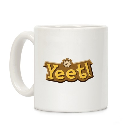 Yeet! Animal Crossing Parody Coffee Mug
