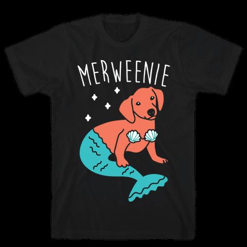 Merweenie Dachshund Mens T-Shirt