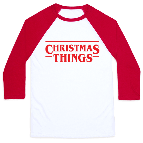 Christmas Things Baseball Tee