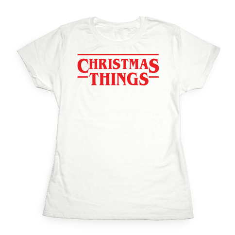 Christmas Things Womens T-Shirt