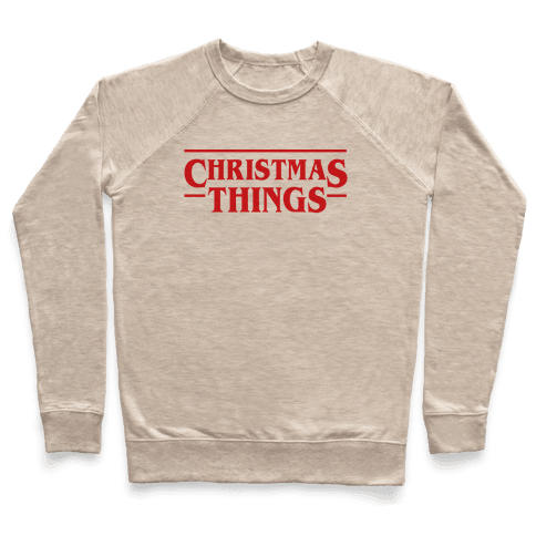Christmas Things Pullover
