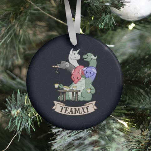 Teamat Ornament