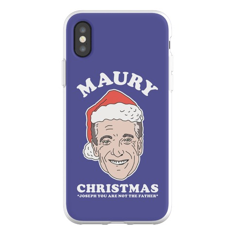 Maury Christmas Joseph You are Not the Father Phone Flexi-Case