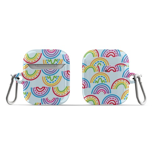 Rainbow Doodle Pattern AirPod Case