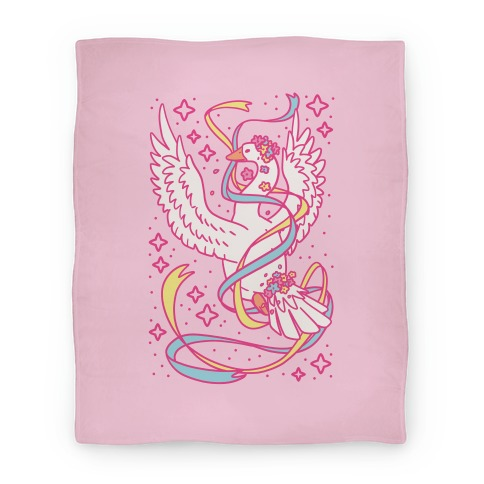 Magical Girl Goose Blanket
