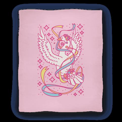 Magical Girl Goose Blanket
