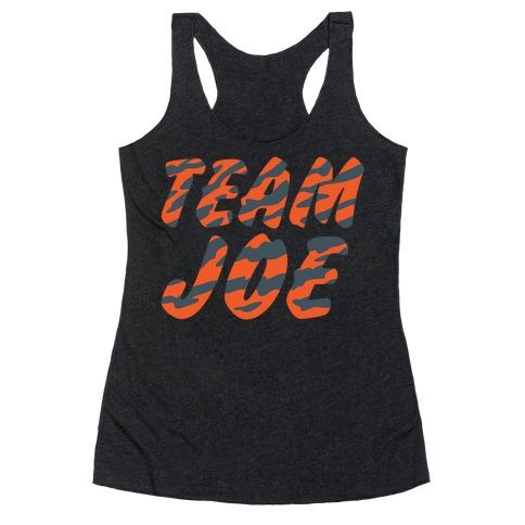 Team Joe Parody Racerback Tank Top